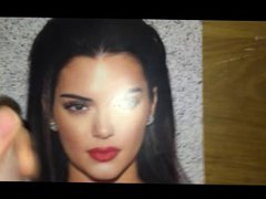 Cum Tribute vidz - Kendall  super Jenner