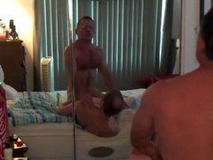 Muscle daddy vidz knows how  super to fuck his boy