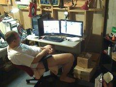 Str8 Daddy vidz play in  super the basement