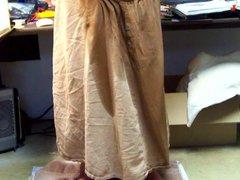 Brown Skirt vidz Relief