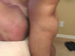 Older guy vidz gets royalty  super fucked with huge cumshot !