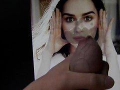 Emilia Clarke vidz - Cum  super Tribute