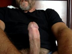 hot hairy vidz dad blows  super big load