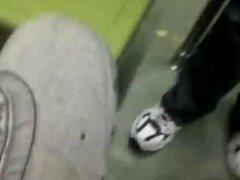 friends killing vidz time on  super the metro