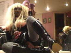 Roxina Hot vidz Latex Doll  super X