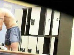 undressing in vidz locker room