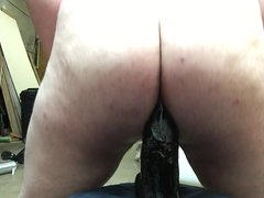 Taking Huge vidz DIldo Deep  super in My Ass with Gape