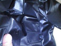 Shiny Shirt vidz schwarz wichsen