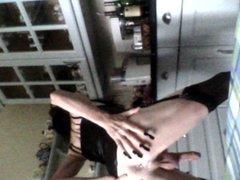 Domestic Goddess vidz Playing in  super the Kitchen: part 2
