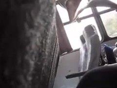 guy caught vidz wanking in  super a bus