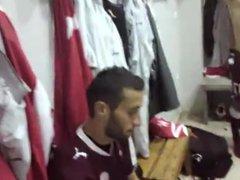 PROODEUTIKH greek vidz football team  super - naked in locker rooms