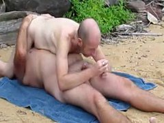nat and vidz shane 69  super at the beach