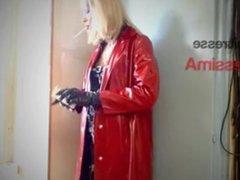 Mistress DessimA vidz Smoking 120  super In PVC Mack