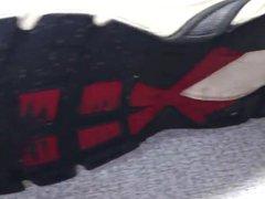 Cum on vidz school brother  super sneakers shoejob
