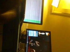 dick play vidz watching porn.