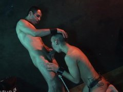 Bound boy vidz released by  super his old master for a facial