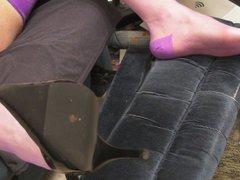 New shoes, vidz violet RHT  super stockings and cum