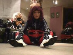 Roxina Slut vidz In White  super Boots X