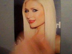 Paris Hilton vidz - Cum  super tribute #4