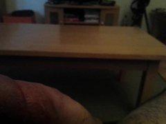 Str8 everett vidz wanking on  super couch ll