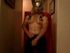 Str8 the vidz big and  super fat dick of Thor