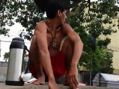 Str8 india vidz freeballing and  super bulge