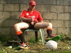 Str8 soccer vidz daddy stroke  super in backyard