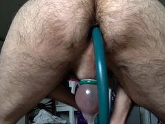 Bent over vidz working my  super prostate