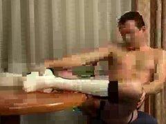Horny Guy vidz Plays in  super OTC Baseball Socks