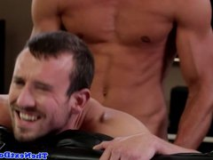 Jock gets vidz sucked before  super anal fucking