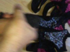 Use and vidz cum on  super ex wifes panties (massive cum blast)