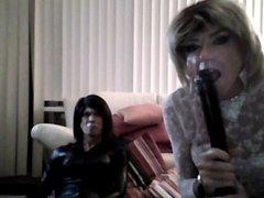 Deep throat vidz practice for  super sissy sluts