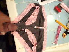 Grey&pink panties vidz part 1