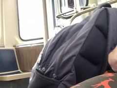 Str8 guy vidz stroke in  super bus