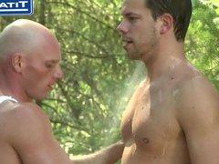 Nude Camper vidz Gets Caught  super By Ranger