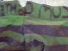sperm stiff vidz stolen green  super stripe teen panties