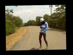 Big Dong vidz Shemale Hitchhiking