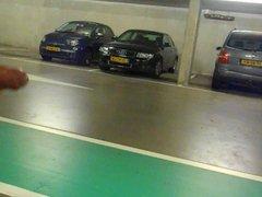 jerking in vidz a parking  super garage Part 2