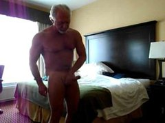 Str8 daddy vidz stroke in  super his bedroom