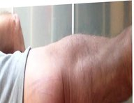 6 sixpacks vidz onto the  super bare ass cheeks