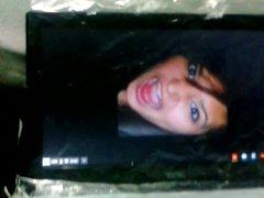 messy CUM vidz facial for  super braceface Natalya.ferrera incl. pre-cum