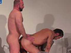 Bearded Cowbow vidz Daddy Gets  super His Fat Cock Sucked