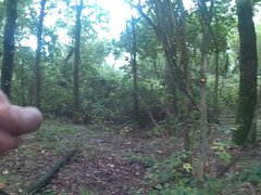 wanking in vidz the woods