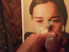 Cum Tribute vidz - Emilia  super Clarke