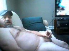 Moaning beefy vidz dad