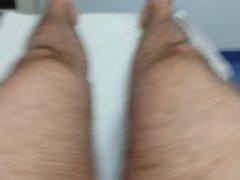 Piercing of vidz the scrotum