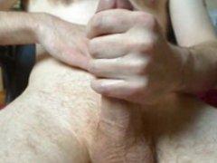 Stroking My vidz Hard Cock