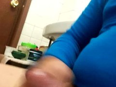 masturbating in vidz the bathroom