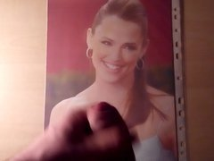 Cum Tribute vidz on Milf  super Jennifer Garner