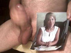 Tribute for vidz turkishwhores1 -  super huge load on her face
